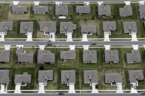 A new housing subdivision outside of Orl