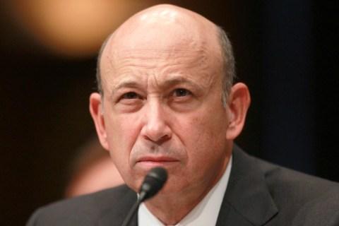 Goldman Sachs Chairman and CEO Lloyd Blankfein testifies in Washington