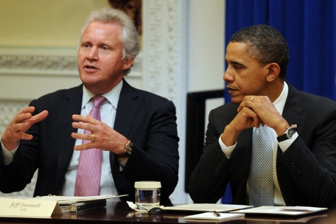 Obama Holds Meeting With Council On Jobs And Competitiveness