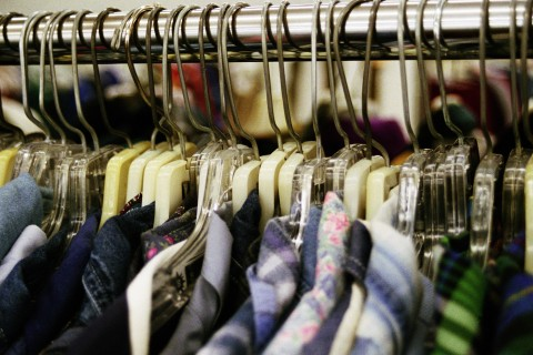 Thrift store shirts