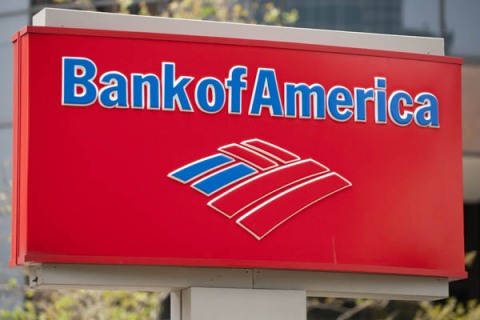 Bank of America's stock rebounded on Wednesday.