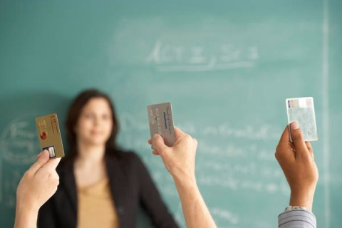 Students with Credit Cards