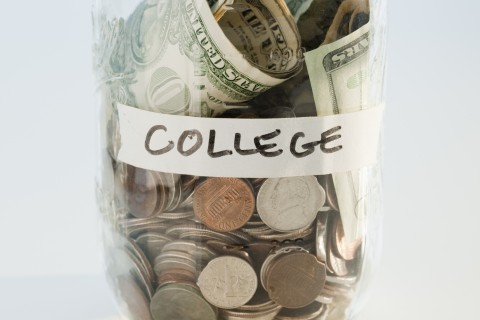 Money saving for college