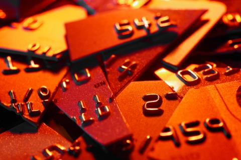 Credit Card Pieces