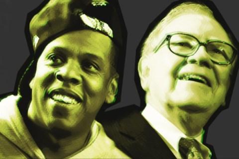 Jay-Z and Warren Buffett