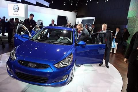 Hyundai's 2012 Accent