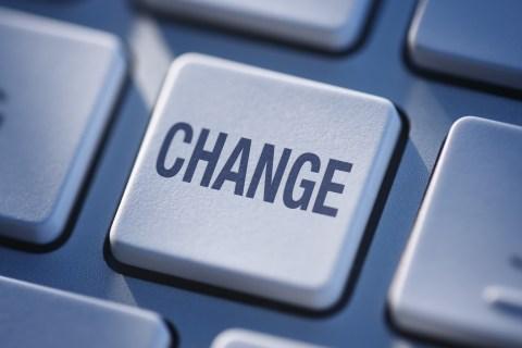Computer Keyboard with symbolic change key