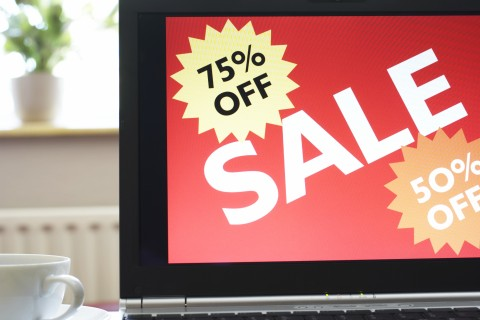 Sale, online shopping