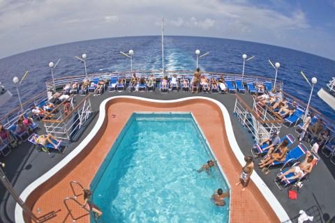 Cruising in the Caribbean