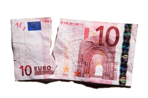 Torn Euro