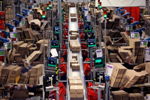 Amazon UK Distribution Centre