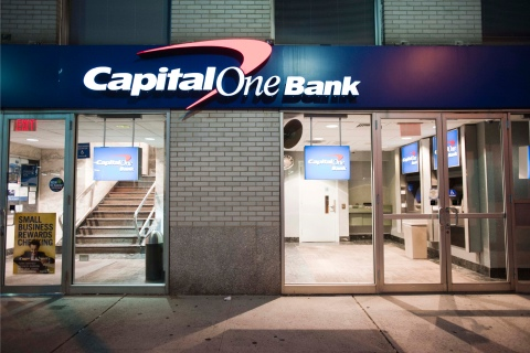 A Capital One Financial Corp. bank