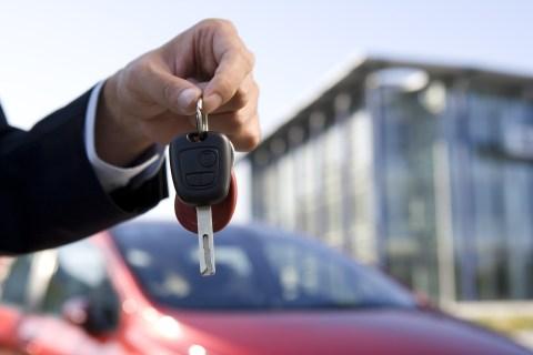 keys for new car