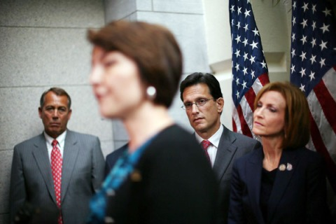 Boehner, House Leaders Hold Speak To Media At The Capitol