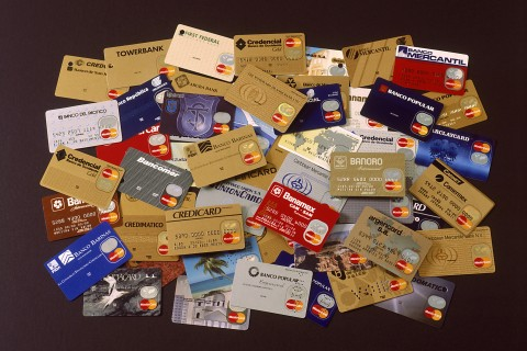 Assortment of credit cards
