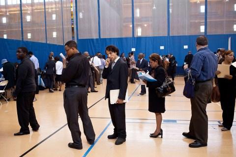 Job Fair Held In New York