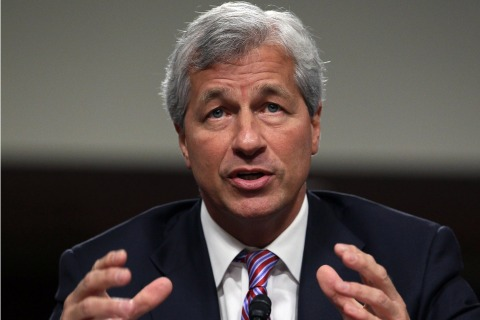 FILE: Banks Subpoenaed In Libor Suit Jamie Dimon Testifies At Senate Hearing On JPMorgan Chase