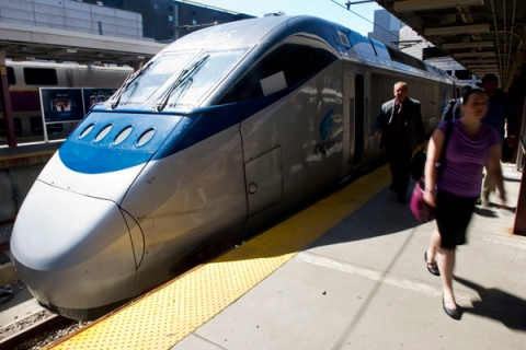 Amtrak Acela High Speed Rail