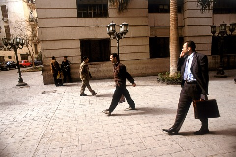 Young businesspeople in Egypt