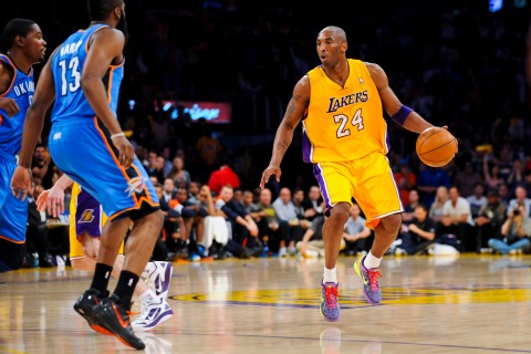 Oklahoma City Thunder v Los Angeles Lakers - Game Four
