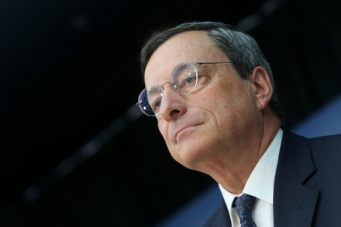 ECB President Mario Draghi Speaks on Bond-Buying Proposal And Rate Announcement