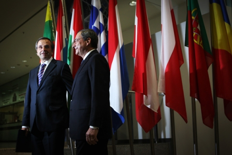 Prime Minister of Greece Antonis Samaras
