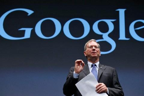 Google Executive Chairman Schmidt