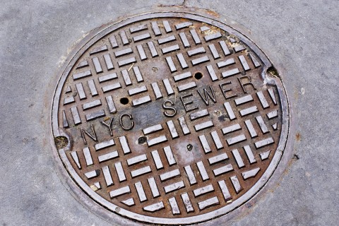 ''NYC Sewer'' manhole cover
