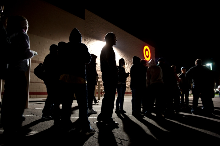 Black Friday And Bad Weather Shoppers May Be Delayed But Not Denied Time Com