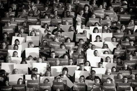 Barack Obama Campaign Rally