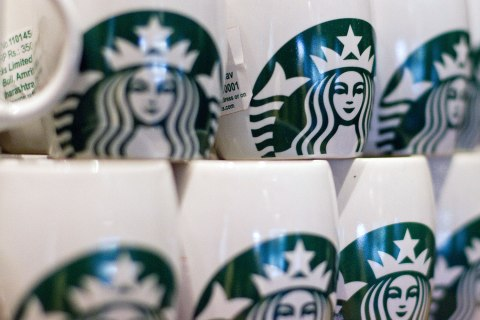 image: Starbucks coffee cups