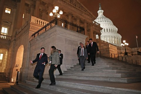 House Passes Budget Deal Past Fiscal Cliff Deadline