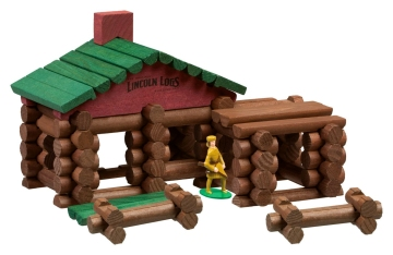 lincoln logs building toys for children