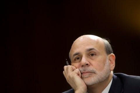 Federal Reserve Board Chairman Ben Bernanke testifies on Capitol Hill in Washington