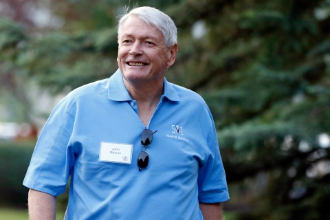 File of chairman of Liberty Media Malone attending the Allen & Co Media Conference in Sun Valley, Idaho