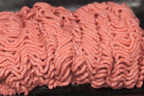 Lean finely textured beef, is displayed at the Beef Products Inc.'s plant in South Sioux City, Neb.
