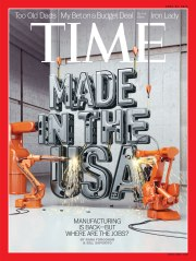 TIME Magazine Cover, April 22, 2013