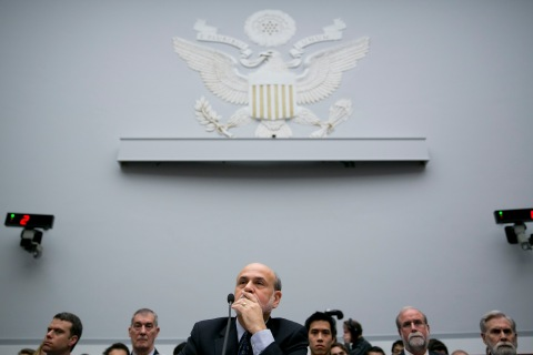 Ben S. Bernanke, chairman of the U.S. Federal Reserve, during a House Financial Services Committee hearing in Washington, D.C., on Feb. 27, 2013.
