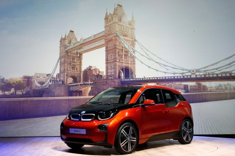 The new BMW i3 electric car
