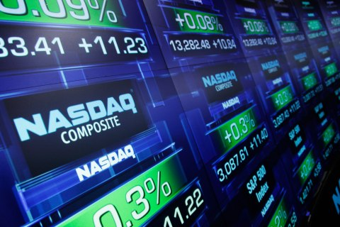 The Nasdaq MarketSite, in New York City, on Aug. 21, 2013.