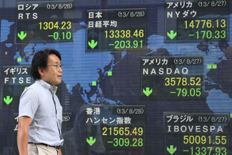 Japan Shares Drop To Two-Month Low As Yen Holds Gains On Syria