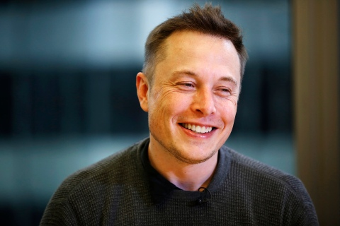 Musk, CEO of Tesla Motors and SpaceX, smiles during the Reuters Global Technology Summit in San Francisco