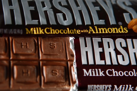 Hershey chocolate bars