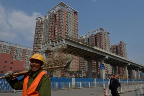 CHINA-ECONOMY-PROPERTY