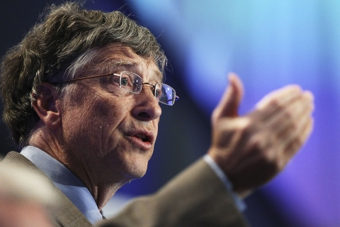 Bill Gates Lobbies Australia For Increased Overseas Aid Funding