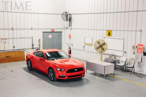 Ford's All-New 2015 Mustang