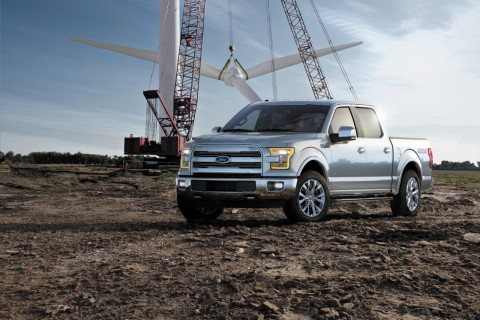 The Ford F-150 2015