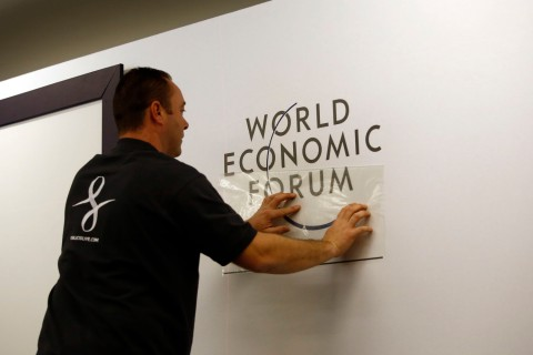 Preparations Ahead Of The Davos World Economic Forum