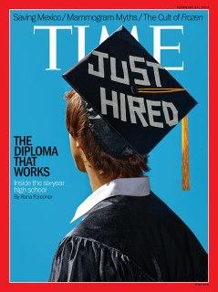 TIME Magazine Cover, February 24, 2014.