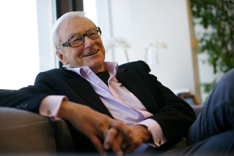 Venture capitalist Tom Perkins is interviewed in his office in San Francisco
